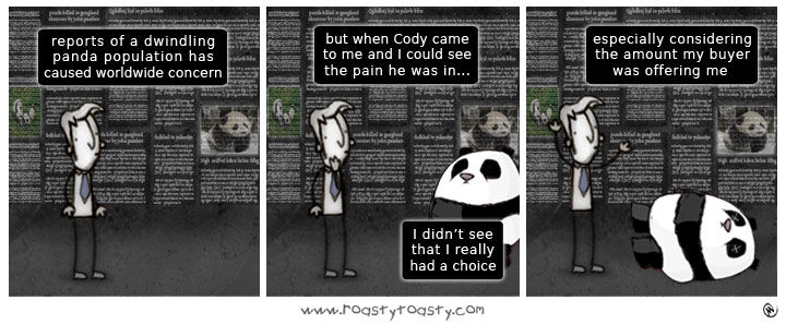 You Can't Always Panda to Public Opinion